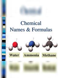 Chemical Formulas List for Class 10