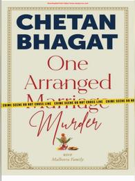 Chetan Bhagat One Arranged Murder Book