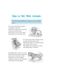 How to Tell Wild Animals Class 10