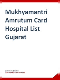 MA Amrutum Card Hospital List Gujarat