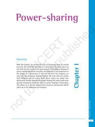 Power Sharing Class 10