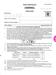 Navodaya Question Paper 2021