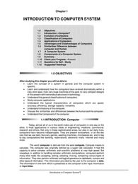 Fundamental of Computer and Information Technology
