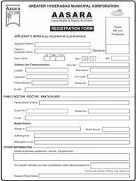 ghmc.gov.in – TS Aasara Pension Application Form