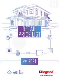 Legrand Switches Price List 2021