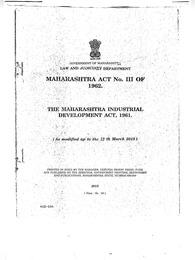 MIDC Act 1961