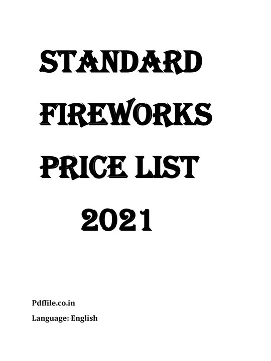 Standard Crackers Price List 2021