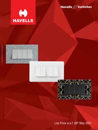 Havells Switches Price List 2021