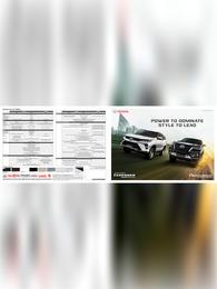Toyota Fortuner 2021 Brochure