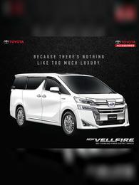 Toyota New Vellfire Brochure