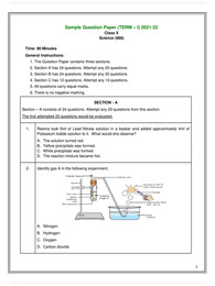 CBSE Sample Papers for Class 10 2021 with Solutions