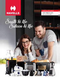 Havells Home Appliances Price List PDF 2021