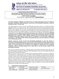 IBPS PO Notification 2021