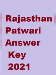 Rajasthan Patwari Answer Key 2021